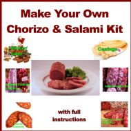 IN STOCK! Chorizo & Italian Salami Making Kits with Mincer Filler, Seasonings, Casings, Culture, Curing Salts